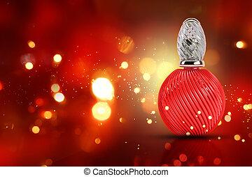 3D decorative perfume bottle