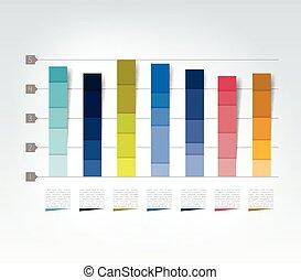 3d, desenho, graph., infographics, chart.