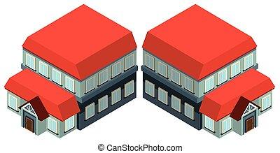 3D design for big building