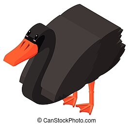 3D design for black swan
