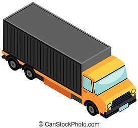 3D design for lorry truck