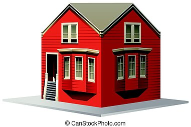 3D design for red house