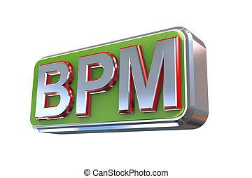 3d design of bpm - business process management