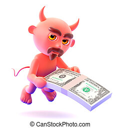 3d Devil offers you US Dollars