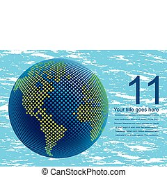 3d digital world map design. - Digital world map design with...