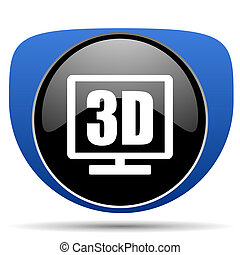 3d display web icon
