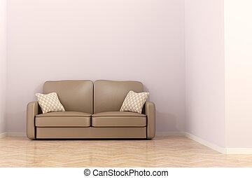 3d, divano