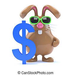 3d Dollar bunny