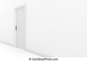 3d door render