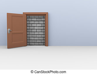 3d door to no way