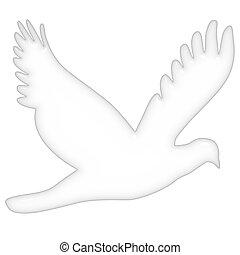 3D Dove