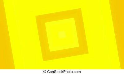 3d, dynamique, ligne, action, vague, effet, son, cube