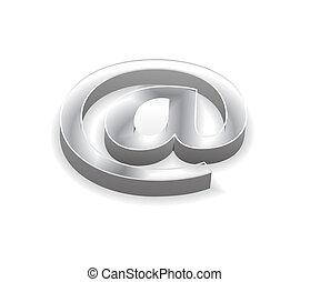 3d e-mail icon