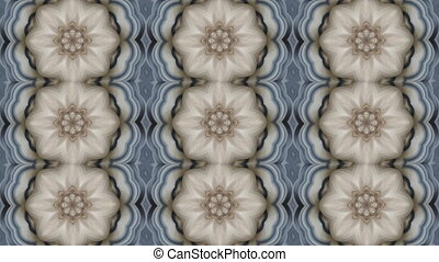Abstract animated kaleidoscope motion background. - 3D...
