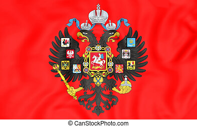 Emperor of Russia Naval Standard (1858-1917) - 3D Emperor of...