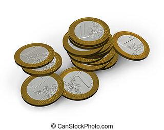 3d, euros