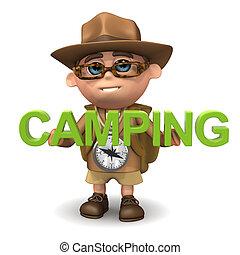 3d Explorer camping