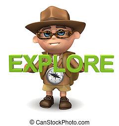 3d Explorer explores