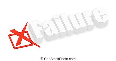 3d Failure Text