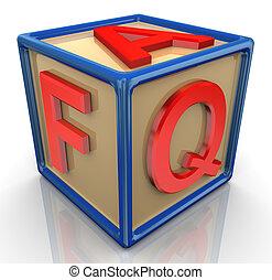 3d faq cube