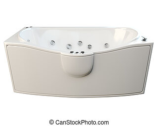 3d, fazendo, de, um, banho