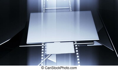 3D filmstrip motion