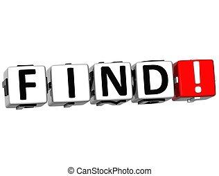 3D Find Crossword