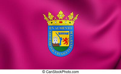 Flag of Alava Province, Spain.