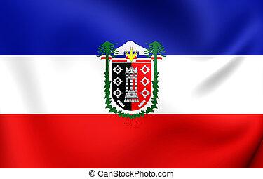Flag of Araucania Region, Chile.