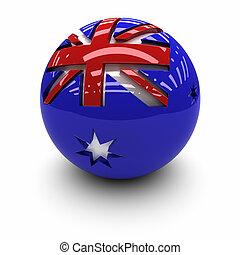 3D - Flag of Australia