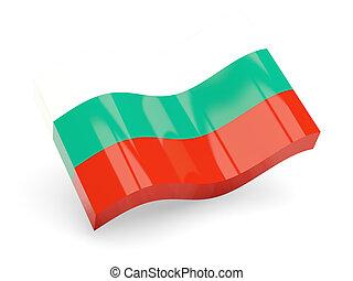 3d flag of Bulgaria