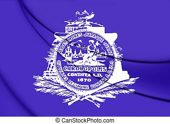 Flag of Charleston (South Carolina), USA.