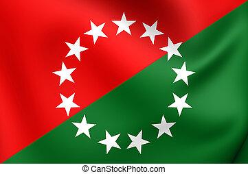 Flag of Chiriqui Province, Panama.