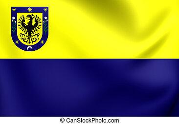 Flag of Concepcion City, Chile.
