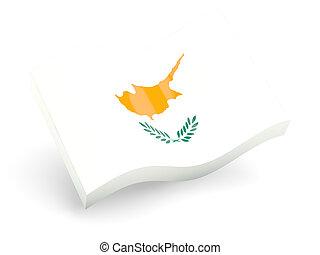 3d flag of cyprus
