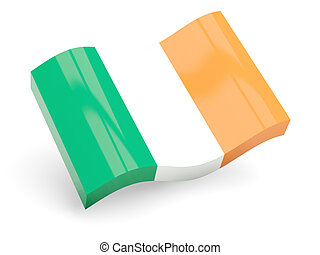 3d flag of ireland