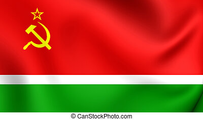 Flag of Lithuanian SSR