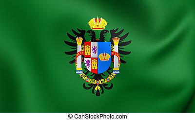 Flag of Toledo Province, Spain.