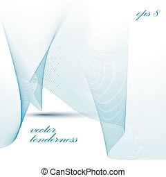 3d flowing background, ribbon