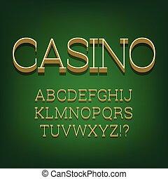 3d font alphabet.