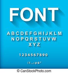3d font.