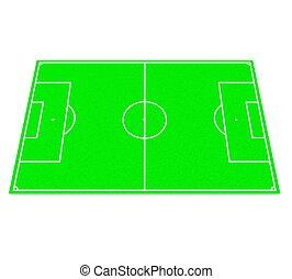 3d Football field