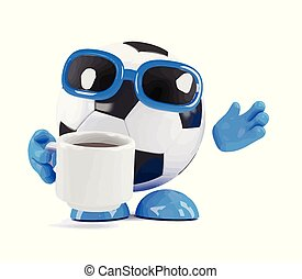 3d Football tea break