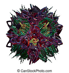 3d fractal,