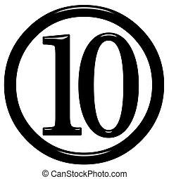 ten clipart black and white. 3d framed number 10 3d isolated in white ten clipart black and t