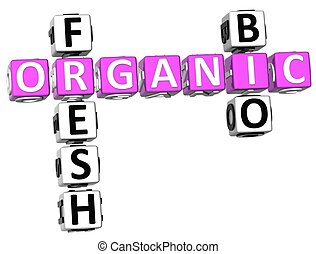 Fresh Bio Organic Crossword