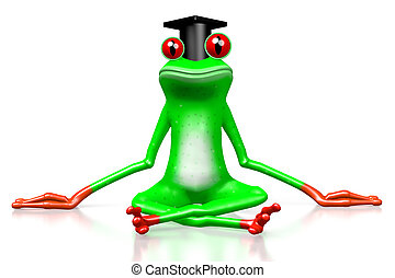 3D frog - student
