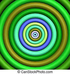 3D - Funky target