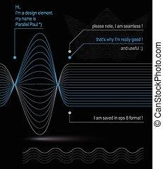3d futuristic flowing lines