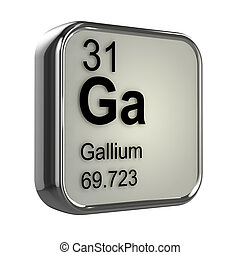 3d Gallium element
